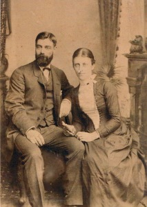 Eleanor Nina Trant and her husband Rev. Richard Herbert Nash